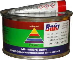 Купить Шпатлевка со стекловолокном Pyramid STANDART MICROFIBRA PUTTY, 0,45 кг - Vait.ua