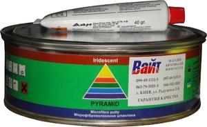 Купить Шпатлевка со стекловолокном Pyramid STANDART MICROFIBRA PUTTY, 1 кг - Vait.ua