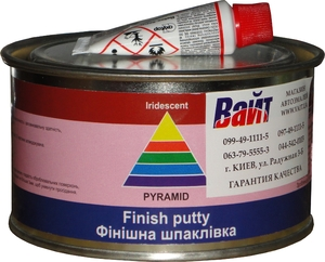 Купить Шпатлевка финишная Iridescent Pyramid STANDART FINISH PUTTY, 0,45 кг - Vait.ua