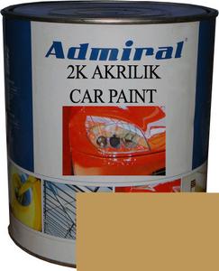 """Купить RAL 1024 Акриловая 2К автоэмаль ADMIRAL """"Желтая охра"""" в комплекте с отвердителем - Vait.ua"""