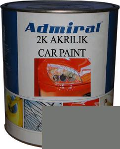 """Купить RAL 7005 Акриловая 2К автоэмаль ADMIRAL """"Серый мышиный"""" в комплекте с отвердителем - Vait.ua"""