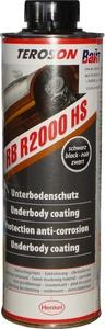Купить Антигравийное покрытие на каучуковой основе Teroson RB R2000 HS (жидкие подкрылки), 1л черное - Vait.ua