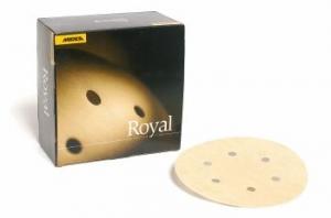 Купить Круг абразивный MIRKA ROYAL MICRO VELCRO, D150mm, 6 отверстий, P600 - Vait.ua