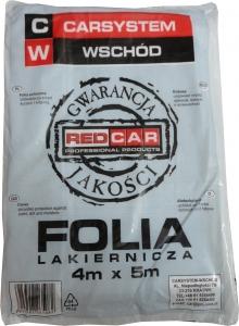Купить Пленка укрывочная маскировочная Red Car, 4х5м, прозрачная - Vait.ua
