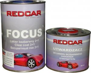 Купить Акриловый 2К лак Red Car FOCUS с высоким содержанием твердых веществ ANTISCRATCH 2:1 (не царапающийся) 1л + отвердитель (0,5л) - Vait.ua