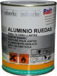 Однокомпонентная эмаль Roberlo Aluminio ruedas (RAL-9006) для колесных дисков серебристая, 1л