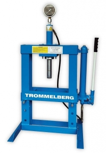 Купить Пресс настольный гидравлический Trommelberg SD100802 с манометром, на 10 т - Vait.ua