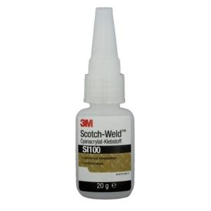 Купить SI100 20 Цианоакрилатный клей 3M Scotch-Weld™ высокой текучести 100сПз 3-20сек, 20г - Vait.ua