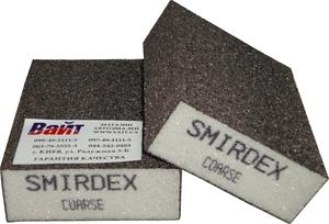 Купить Абразивный блок 4-сторонний SMIRDEX (серия 920), 100 x 70 x 25 мм, Сoarce - Vait.ua