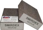 Абразивный блок 4-сторонний SMIRDEX (cерия 920), 100 x 70 x 25 мм, Medium