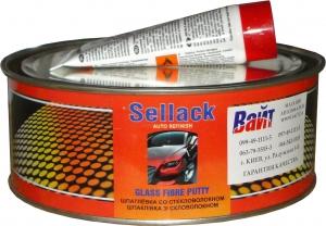 Купить Шпатлевка со стекловолокном Sellack, 1 кг - Vait.ua