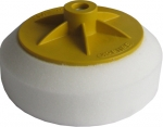 Круг полировальный SELLACK с резьбой М14 твердый (белый), D150mm
