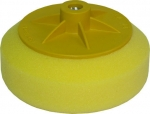 Круг полировальный SELLACK с резьбой М14 универсальный (желтый), D150mm