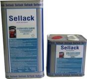 2К UHS Акриловый лак Sellack (5л) + отвердитель (2,5л)