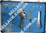 Набор краскопультов Senax в металлическом кейсе