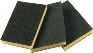 Купить Абразивная губка 2-сторонняя SMIRDEX (серия 920), 120 x 90 x 10 мм, Fine - Vait.ua