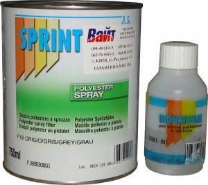 Купить F18 SPRAY Шпатлевка распыляемая Sprint, 1л - Vait.ua