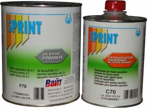 Купить Эпоксидный двухкомпонентный грунт F70 Sprint EPOXY PRIMER с отвердителем С70, 1л + 0,5л - Vait.ua