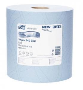 Купить 130080 Протирочная бумага Tork Advanced 440 в больших рулонах, 255м, 750 листов - Vait.ua