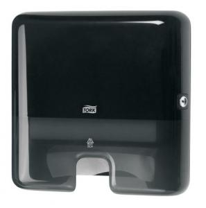 Купить Tork 552108 Мини-диспенсер для листовых полотенец сложения Interfold. Черный - Vait.ua