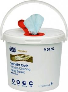 Купить 90492 Нетканый материал Tork для чувствительной очистки в ведре для пропитки, 70м, 250 листов - Vait.ua