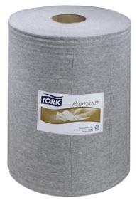 Купить 520337 Нетканый материал Tork Premium 520 для удаления масла и жира в рулоне в коробе, 148,2 м, 390 листов - Vait.ua