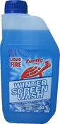Зимняя жидкость для стеклоомывателя Turtle Wax Liquid Fire (концентрат -80С)