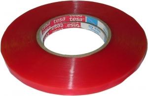 Купить Двухсторонняя клейкая лента тонкая прозрачная TESA 4965 (ширина 12 мм × 50 м х 0.21 мм) - Vait.ua