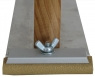 """Рубанок деревянный """"Вайт"""" (серия """"VTP""""), вид B, крепление винтовой зажим, 245x70мм"""
