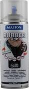 """Синтетическое резиновое покрытие Maston RUBBERcomp """"Прозрачный мат"""" в аэрозоле, 400мл"""