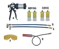 Купить Комплект УФ-течеискателя Trommelberg F104260 для автомобильных кондиционеров   - Vait.ua