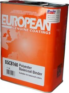Купить EGCB160/4 Полиэфирный биндер U-Pol для базовых покрытий, 4л - Vait.ua
