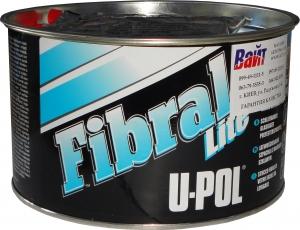 Купить FIBL/2 FIBRAL LITE Шлифуемая стекловолоконная шпатлевка U-Pol FIBRAL® в банке, 900 мл - Vait.ua