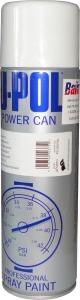 Купить Краска белая блестящая глянцевая U-Pol POWER CAN в аэрозоли, 500 мл - Vait.ua