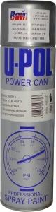 Купить Краска стальная для колес U-Pol POWER CAN в аэрозоли, 500 мл - Vait.ua