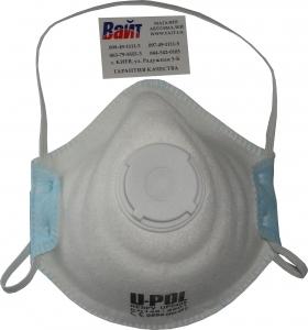 Купить RESPV Маска защитная /респиратор U-Pol типа FFP2 (защита от пыли и распыляемого лакокрасочного покрытия) - Vait.ua