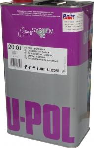 Купить S2001/5 Быстрый обезжириватель-антисиликон U-Pol на основе органических растворителей, 5л - Vait.ua