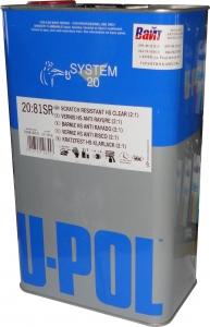 Купить S2081SR Лак HS повышенной прочности Super Clear 2:1 U-POL, 5л - Vait.ua