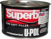 SUPERB/2 Легкошлифуемая мультифункциональная U-Pol Fine Soft шпатлевка, 1л