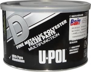 Купить UPOLD/2 Эластичная шпатлевка с алюминием U-Pol, 1,1л - Vait.ua