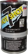 HOT7/1 Прозрачный лак U-POL HOTSHOT HS 2:1 с отвердителем (объем готовой к нанесению смеси 1литр)