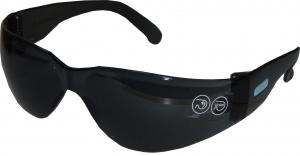 Купить Защитные поликарбонатные очки Venitex BRAVAFU100 с монолинзой, затемненные - Vait.ua