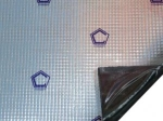 Виброизоляционный материал Стандарт Изопласт Plus 2,3, 350х570мм х 2,3мм