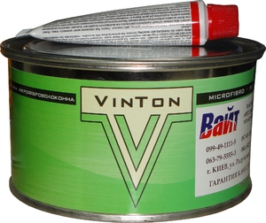 Купить Шпатлёвка со стекловолокном VinTon FIBER MICRO, 0,45 кг - Vait.ua