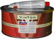 Шпатлевка наполнительная среднезернистая полиэфирная VinTon Full, 1,8кг