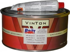 Купить Шпатлевка наполнительная среднезернистая полиэфирная VinTon Full, 1,8кг - Vait.ua