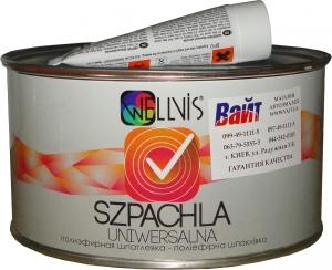 Купить Шпатлёвка полиэфирная универсальная Wellvis, 1,8 кг - Vait.ua