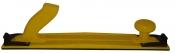 Ручной длинный шлифовальный рубанок ВАЙТ H1, 400х70мм, пластиковый, желтый