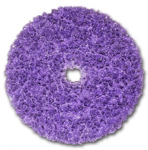 Купить XT-DC Круг пурпурный обдирочный 3M Scotch-Brite Clean'n'Strip™ PURPLE для зачистки, 150мм x 13мм - Vait.ua