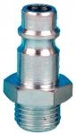 """Штуцер к быстросъемному соединению с внешней резьбой R 1/4"""" ZZ-2416"""